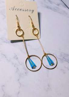 🚚 耳針耳夾都有 藍色海洋傳說