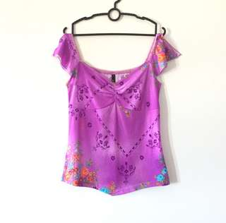 SG FASHION LAB Purple Top