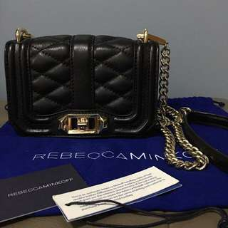 Flash Sale!!! AUTHENTIC REBECCA MINKOFF MINI LOVE
