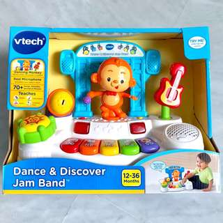 (In-Stock) VTech Dance & Discover Jam Band, (Brand New)