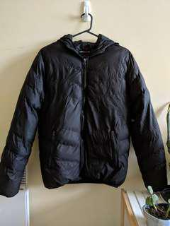 Small black puffer jacket