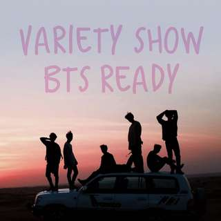 New!!! BTS variety show free photocard
