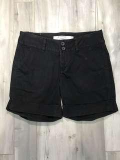 Giordano Black Shorts Size 26