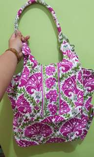 Original Vera Bradley Backpack Tote (Two Way)