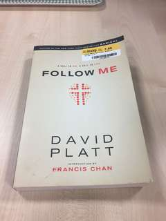 Christian Book- Follow Me by David Platt
