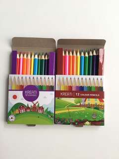 Colour pencil as gift