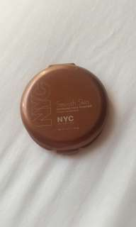 NYC smooth skin bronzing face powder bronzer