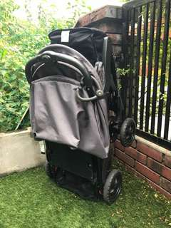 Childcare two up tandem stroller