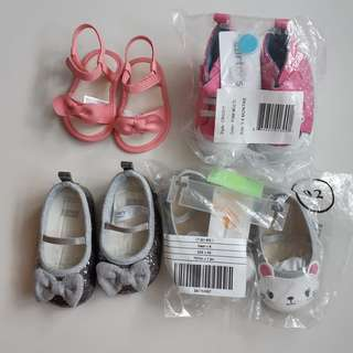 Baby girl shoes - Carter & Gymboree