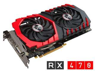 4x RX470 cards 4GB for sale