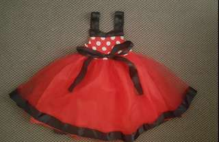 [Preloved] Minnie Mouse Dress