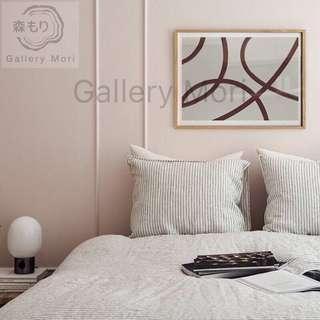 🚚 Art Print with White Oak Frame