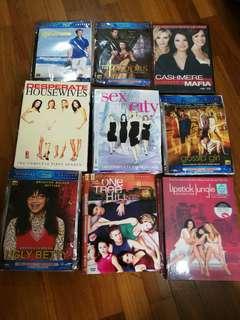 Assorted English Drama Series (per series per season)