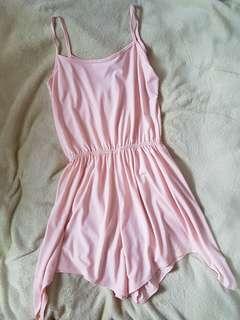 Apricot Romper Dress