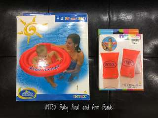 Intex Baby Float and Arm Bands