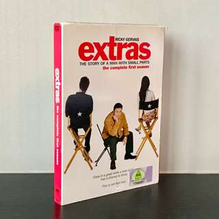 """Ricky Gervais' """"Extras"""" - The Complete First Season (2 x DVD set)"""