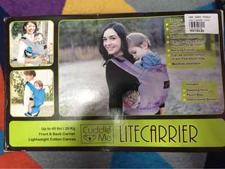 Baby carrier cuddle me lite carrier