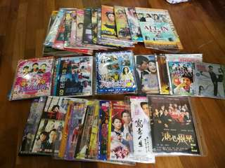 (Random 10 titles) Assorted Chinese drama series, TV shows and movies