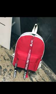 Tas backpack import fashion