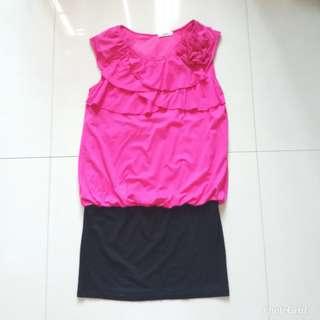 Pinky mini dress