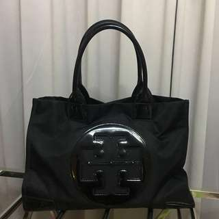 Tory Burch Ella Bag 手提袋 - Black Big size