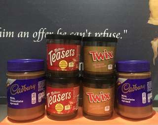 CHOCOLATE SPREAD CADBURY