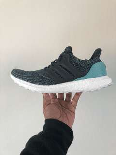 """ADIDAS Ultra Boost """"Parley"""" SIZE 9.5"""