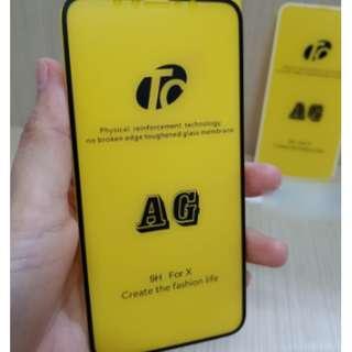 Matte Tempered Glass iPhone X iPhone 10 5.8 AntiGores Kaca