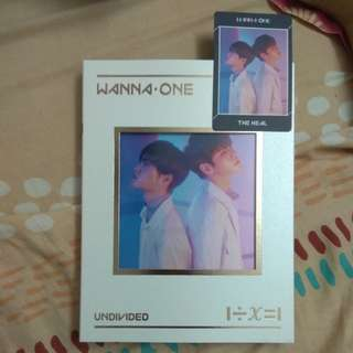 【Readystock with poster】Wanna One Undivided The Heal Album