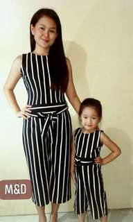 Jumsuit mother and daughter terno