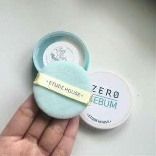 Etude house zero sebum drying powder new