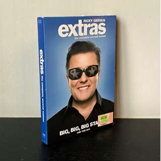 """Ricky Gervais' """"Extras"""" - The Complete Second Season (2 x DVD set)"""