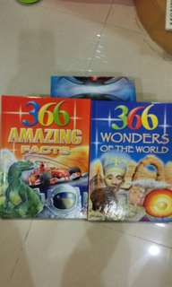 366 Amazing Facts and 366 Wonder Of The World