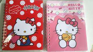 Hello kitty notebooks