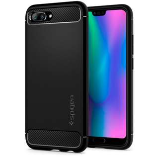 🚚 Spigen Huawei Honor 10 Rugged Armor Case (Authentic)