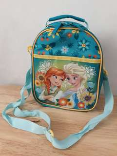 Disney Frozen Lunch Tote Bag with Anna and Elsa