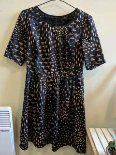Don't Ask Amanda dress MEDIUM smock dress