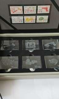 「香港玩具 – 1940至60年代」特別郵票 - 珍貴水晶座禮盒