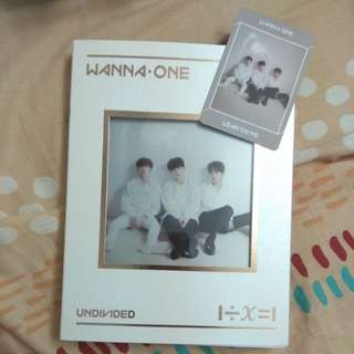 Wanna One Undivided Lean On Me album