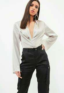 BNWT SATIN BODYSUIT