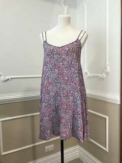 American Eagle Sexy Back Floral Dress 2