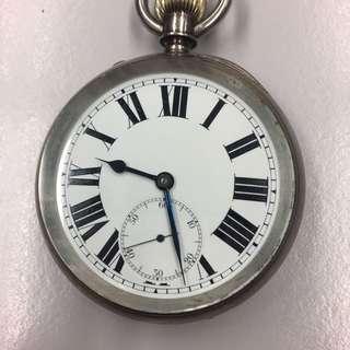 英國銀小三針袋表