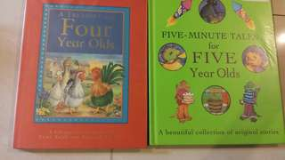 Four Years & Five Years Olds Books