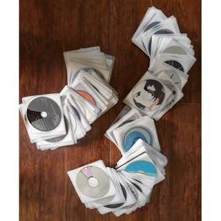 Audio CDs and MP3s