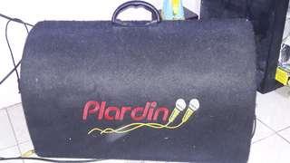 Plardin bluetooth speaker with bass