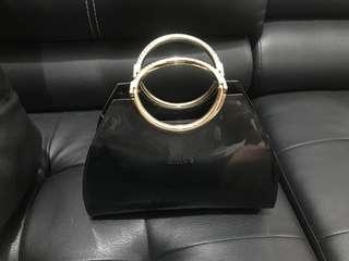 Tas - handbag - clutch Chloe hitam