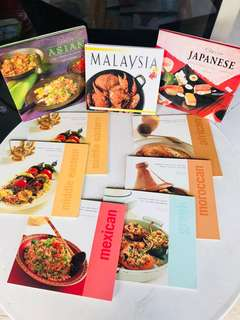 Cook Books - Different Cuisines