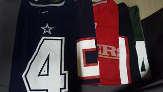 NFL Name and Number Shirts