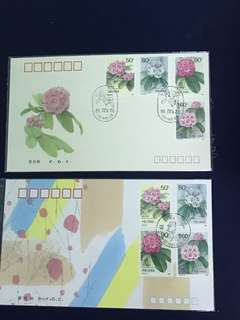 China Stamp- 1991 T162 A/B FDC