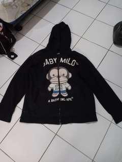 Jaket gambar baby milo